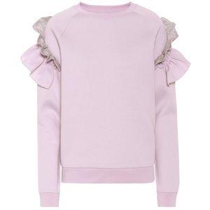 Stella McCartney Ruffle Sweatshirt